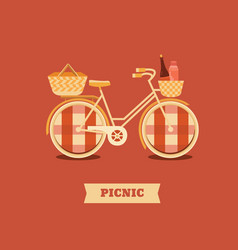 Go to picnic vector