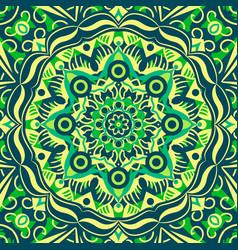 islamic ornament persian motiff round vector image