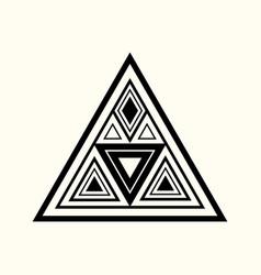 sacred geometry 0062 vector image