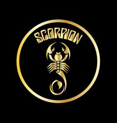Scorpion logo vector