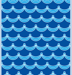 Sea water seamless texture repeating waves vector