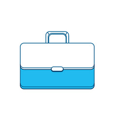Suitcase to save business documents vector