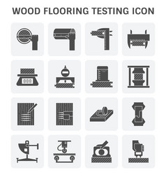 Wood floor test vector