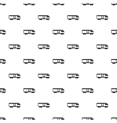 Train pattern simple style vector image vector image