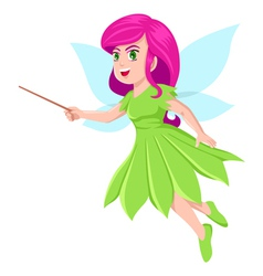 Cute Little Fairy vector image vector image
