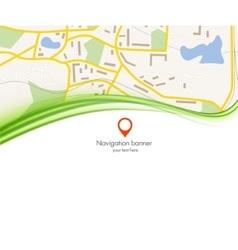 navigation background vector image