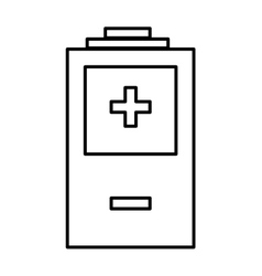 Battery icon Energy design graphic vector