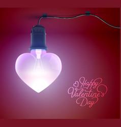 festive romantic template vector image