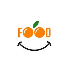 Food template design vector
