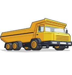 Haultruck vector image