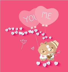 Love concepts for valentines day vector image