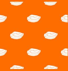 Rice field pattern seamless vector