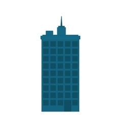 Urban city tower vector image