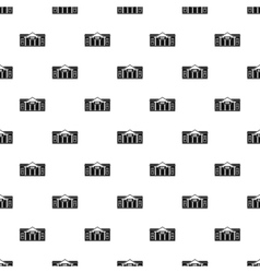 Bank pattern simple style vector image vector image