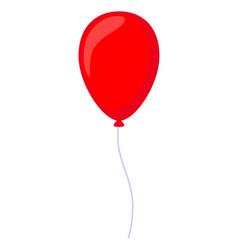 Cartoon red baloon vector