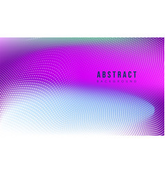 Colorful abstract particle background vector