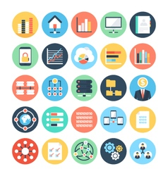 Data Science Icons 4 vector