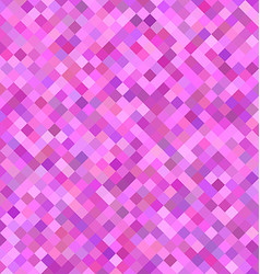 Pink square pattern background design vector