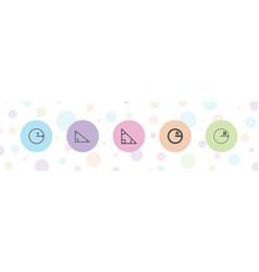 Prototype icons vector