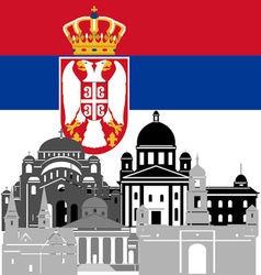 Serbia vector