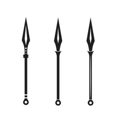 Spear icon design vector