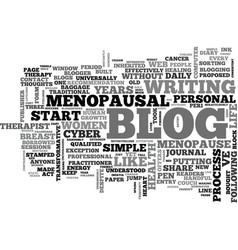 Women s health blogs adventures in the blogsphere vector