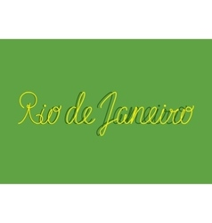 Sign Rio de Janeiro can be use for banners or vector image
