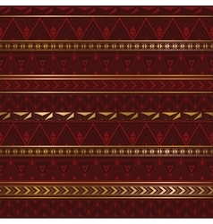 Ethnic texture in burgundy color vector image