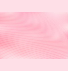 Abstract pink gradient with curved lines pattern vector