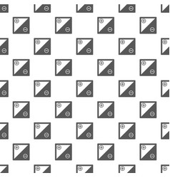 accumulator pattern seamless vector image