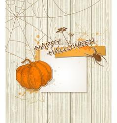 halloween spider vector image