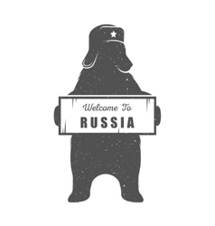 Russian Bear vector