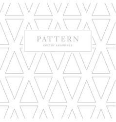 simple geometric seamless pattern vector image