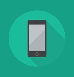 Technology Flat Icon Smart Phone vector
