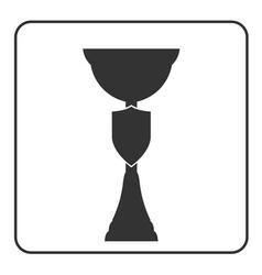 Trophy cup icon 17a vector