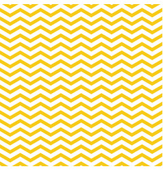yellow zigzag pattern seamless background vector image