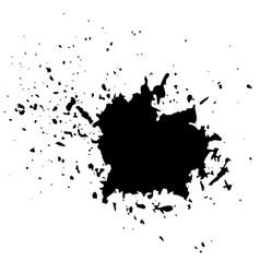 grunge ink background vector image