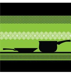 abstract Pan vector image vector image