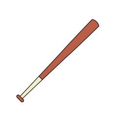 baseball bat icon image vector image vector image