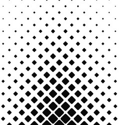Black and white rounded square pattern background vector image vector image