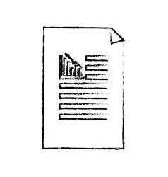Figure business statistics strategy data documents vector