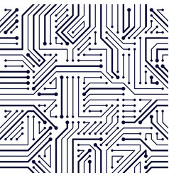 microchip board seamless pattern background vector image