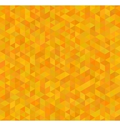 Orange and yellow triangles abstract seamless vector image