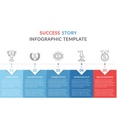 Success story vector