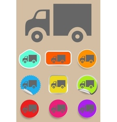 Truck Icon - vector