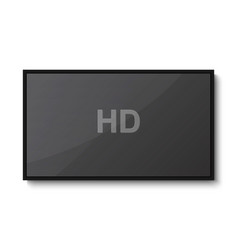 tv modern blank screen vector image