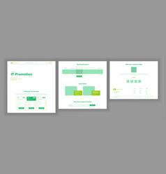 Web page design website business screen vector