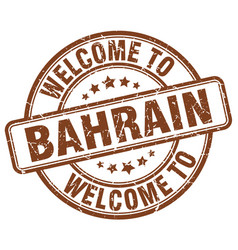 Welcome to bahrain vector