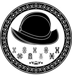 Mayan conquista symbol vector image vector image