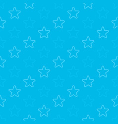 stars seamless background blue vector image vector image